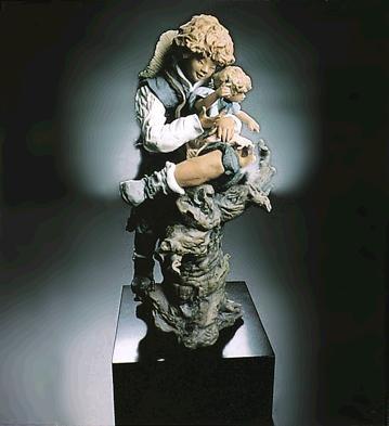LladroTree ClimbersPorcelain Figurine