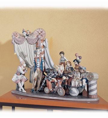 LladroCircus Time Le2500 1992Porcelain Figurine