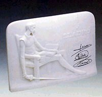 Lladro Charter Member Plaque Without Box Porcelain Figurine