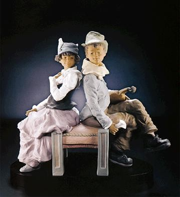 Lladro Goyescas Back To Back Le350 1993-2000