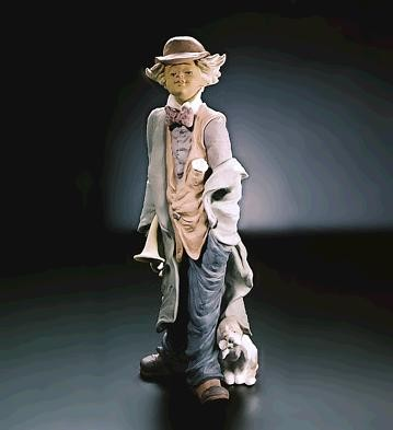 LladroMischevious MusicianGoyesca Porcelain Figurine
