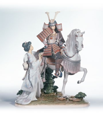 Lladro Farewell To The Samurai Le2500 1994-10 Porcelain Figurine