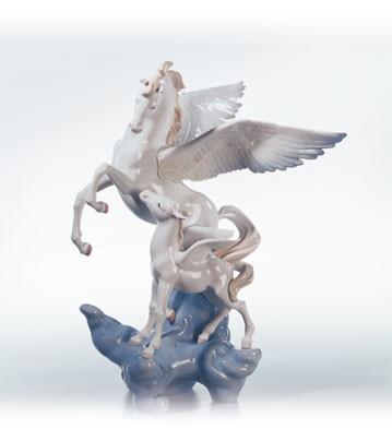 LladroPegasus Le1500 1994-2003Porcelain Figurine