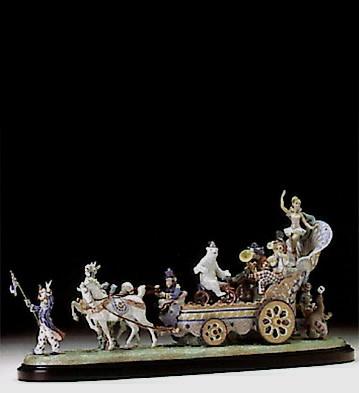 LladroCircus Fanfare Le1500  1994-97Porcelain Figurine