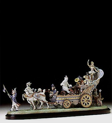 LladroCircus Fanfare Le1500  1994-97
