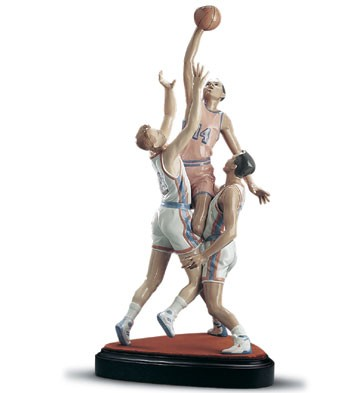 Lladro To The Rim Le1500 1995-2001 Porcelain Figurine