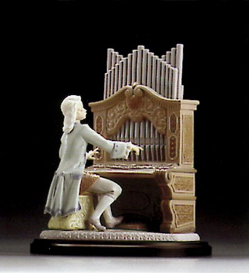 Retired Lladro Young Bach le2500 1994-95