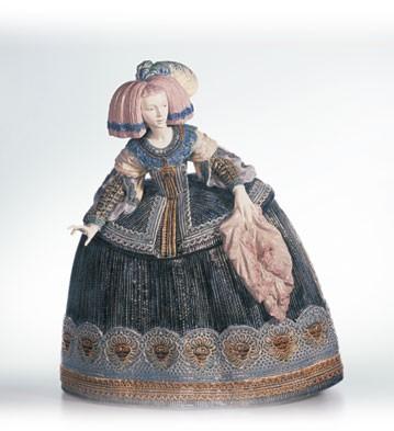 LladroLa Menina Le1000 1996-CPorcelain Figurine