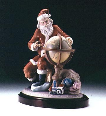 Lladro Christmas Journey Porcelain Figurine