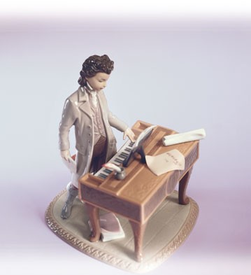 LladroYoung Beethoven Le2500 1998-03Porcelain Figurine