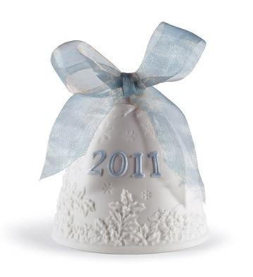 LladroChristmas Bell 2011 OrnamentPorcelain Figurine