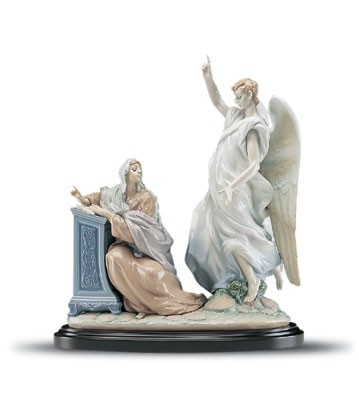 Lladro The Annunciation Le1000 1999-2001 Porcelain Figurine