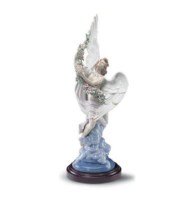 LladroCelestial Ascent Le1500 2000-2001Porcelain Figurine