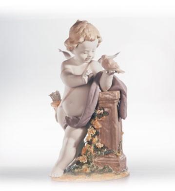 LladroEros Le1000 2000-2002Porcelain Figurine