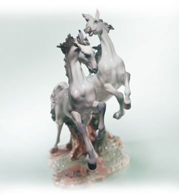 Lladro Free As A Wind Le1500 2000-C