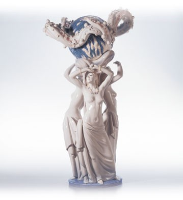 Lladro Mother Earth Le500 2000-03