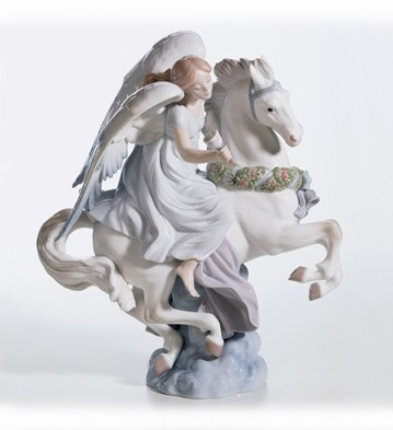 Retired Lladro A Message Of Joy (3000)