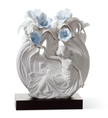 Lladro Water Nymph Porcelain Figurine