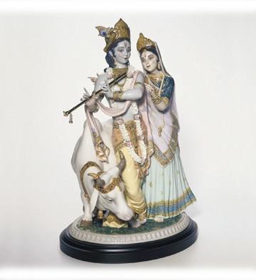 LladroRadha Krishna 2005-2009Porcelain Figurine