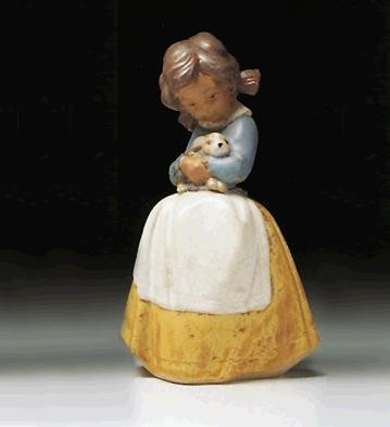 Lladro Tenderness 1978-2000 Porcelain Figurine