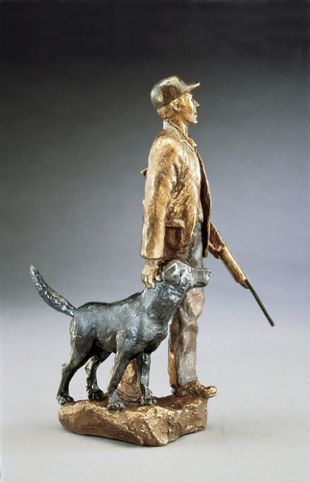 Mark HopkinsHuntersBronze Sculpture