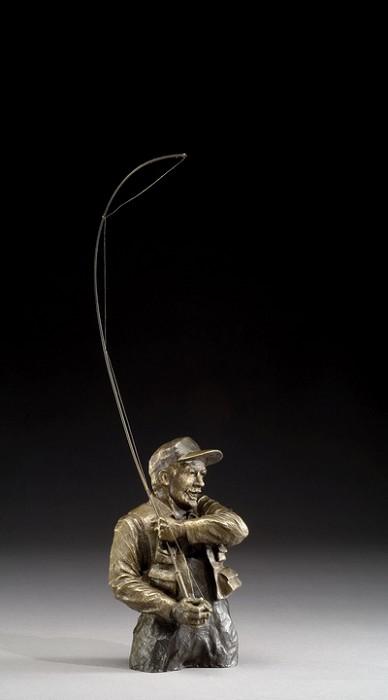 Mark HopkinsGotcha!Bronze Sculpture