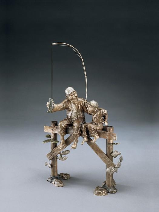 Mark HopkinsThat's a KeeperBronze Sculpture