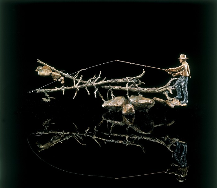 Mark HopkinsDownstream DriftBronze Sculpture
