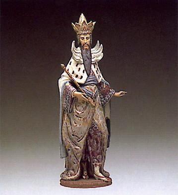LladroMystical Joseph 1984-88Porcelain Figurine