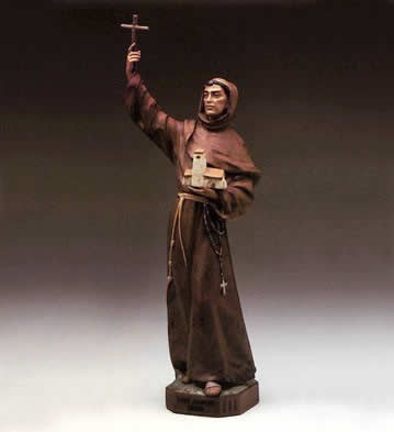 LladroFriar Juniper 1984-93Porcelain Figurine
