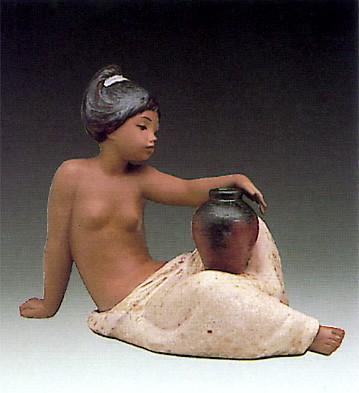 LladroLeticia Porcelain Figurine