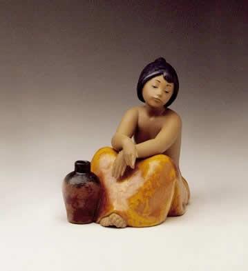 LladroGabriella 1984-94Porcelain Figurine