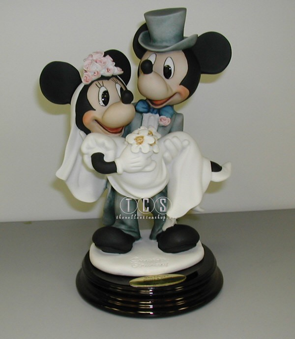 Giuseppe Armani Mickey And Minnie Bride & Groom