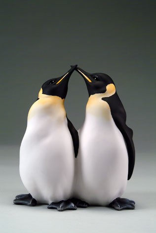 Giuseppe Armani Penguin Couple