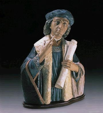 Lladro Christopher Columbus Le1000 1987-94 Porcelain Figurine