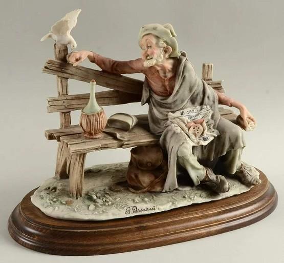 Giuseppe ArmaniTramp Feeding Dove