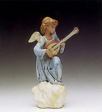 Lladro Heavenly Strings 1990-93 Porcelain Figurine