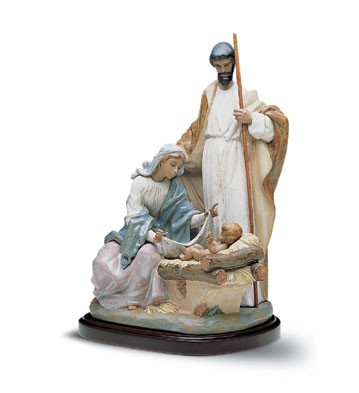Lladro A King Is Born 1990-2001 Porcelain Figurine