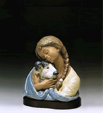 Lladro Devoted Friends 1990-95 Porcelain Figurine