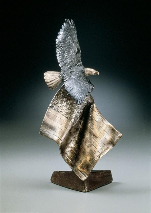 Mark HopkinsPatriot's DreamBronze Sculpture