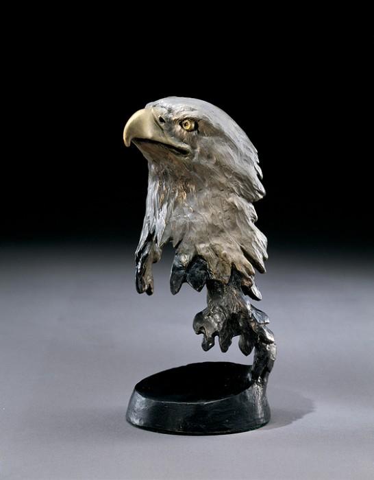 Mark HopkinsLibertyBronze Sculpture
