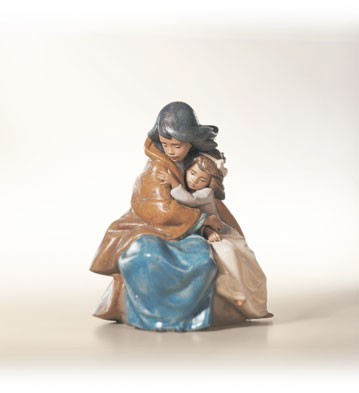 Lladro Sisterly Love 1990-2002 Porcelain Figurine