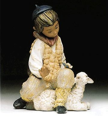 Lladro Tender Moment 1992-99 Porcelain Figurine