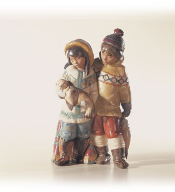 Retired Lladro Arctic Allies