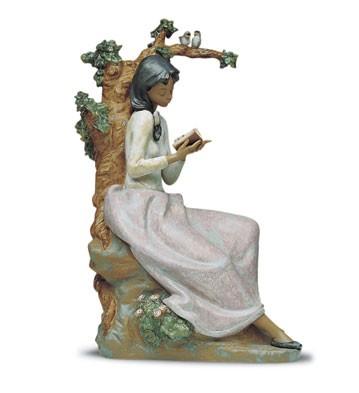 LladroAfternoon Verse 1992-2001Porcelain Figurine