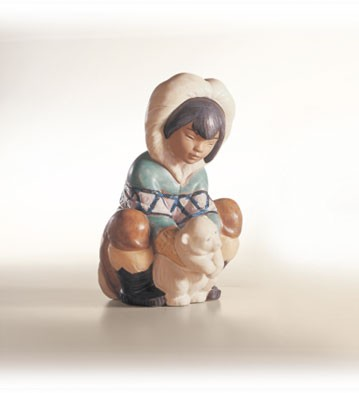 Retired Lladro Poor Little Bear