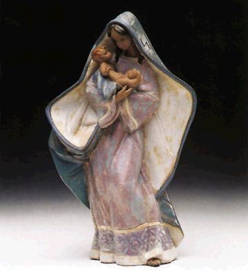 LladroAdoring Mother 1993-99Porcelain Figurine