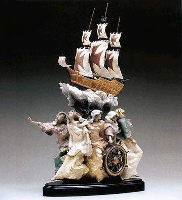 LladroSpirit Of America Le1000 1993-98Porcelain Figurine