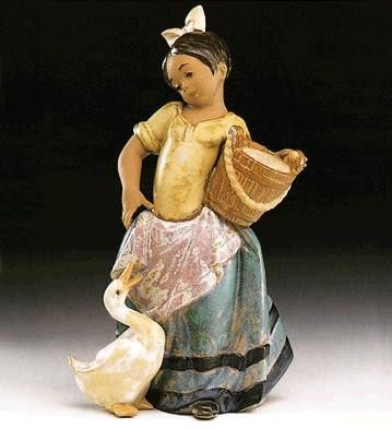 LladroNoisy Friend 1993-99Porcelain Figurine