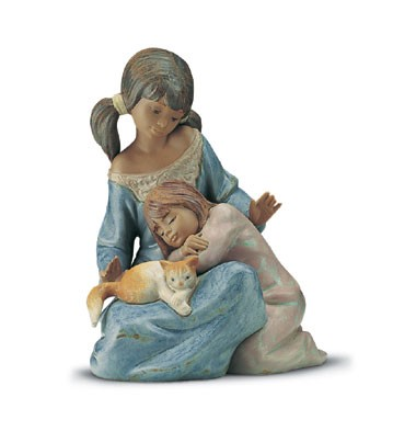 Lladro Little Sister 1994-2001 Porcelain Figurine